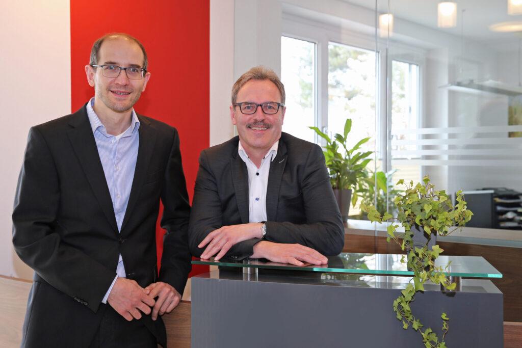 Steuerberater Thorsten Häring und Steuerberater Michael Rauch